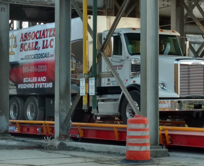 heavy capacity truck scale